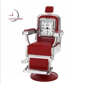 Other - Barber Chair Miniature Clock